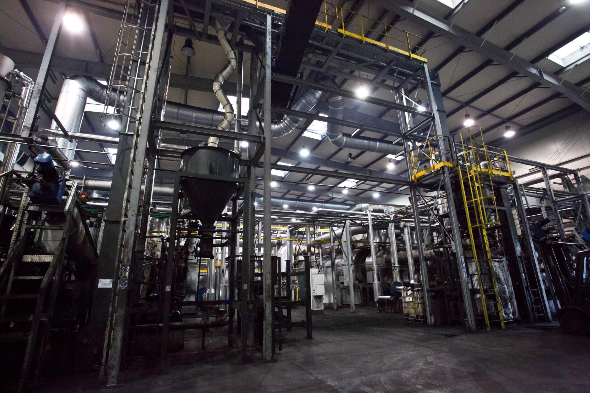 Produkcja sadzy technicznej